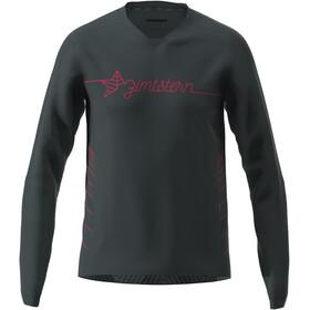 Zimtstern EcoFlowz LS Shirt Men, pirate black/jester red